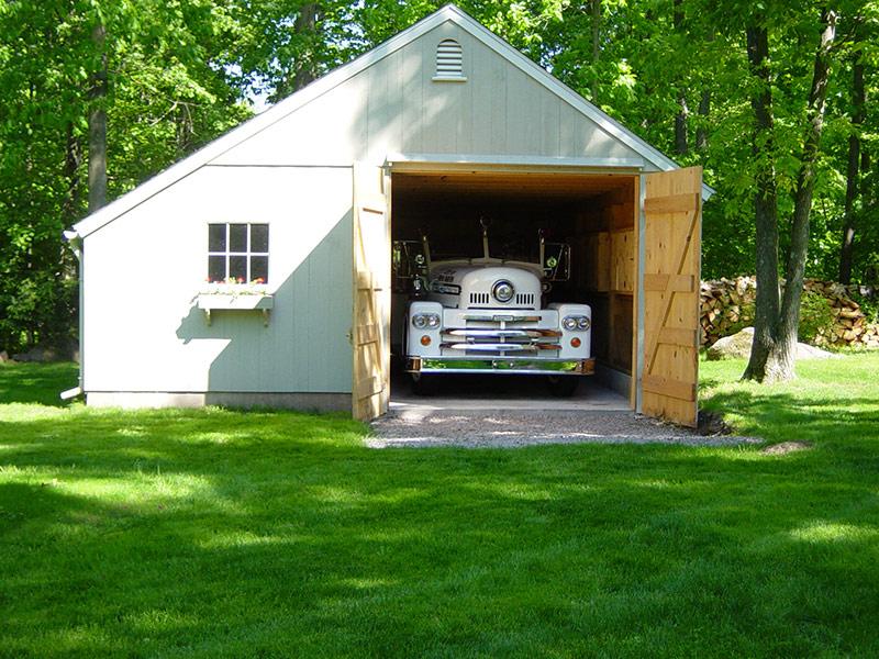 Post & Beam Garages Brookfield CT