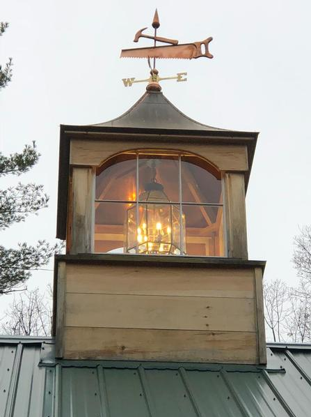Cupola with Carpenters Weathervane