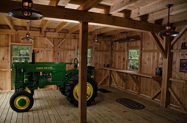 New England Post and Beam Barns