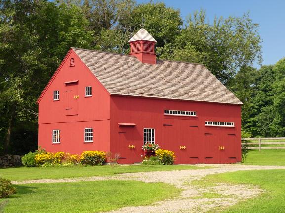 1 1/2 story barns 22, 24, 26'