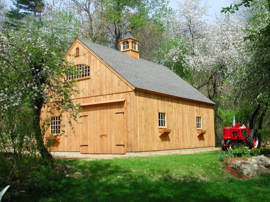 post and beam barns