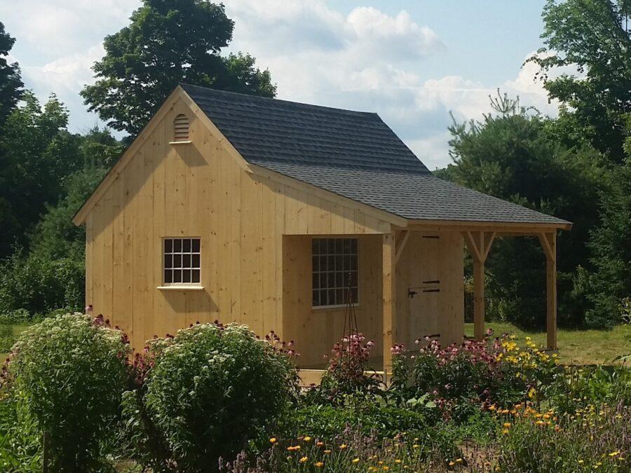 Summer Timber Frame Cottage
