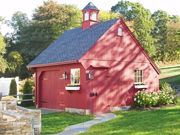 Small red Carriage House