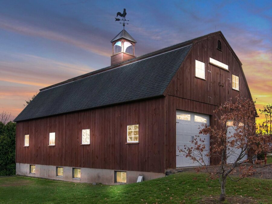 new england barn
