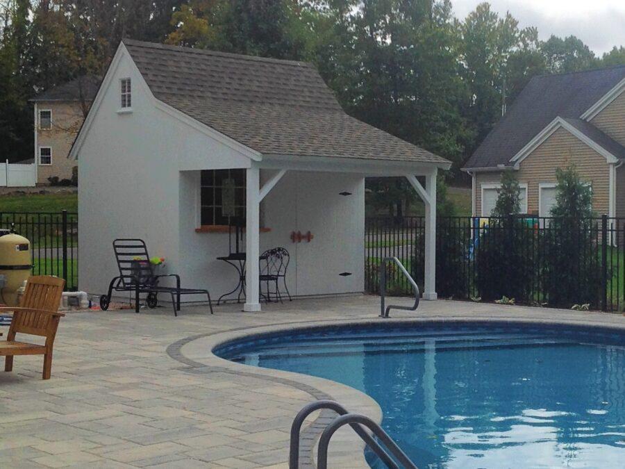 Tiny Pool Cabin