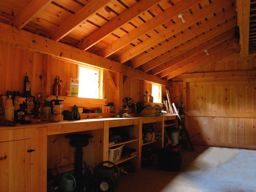 Interior Timber Framing