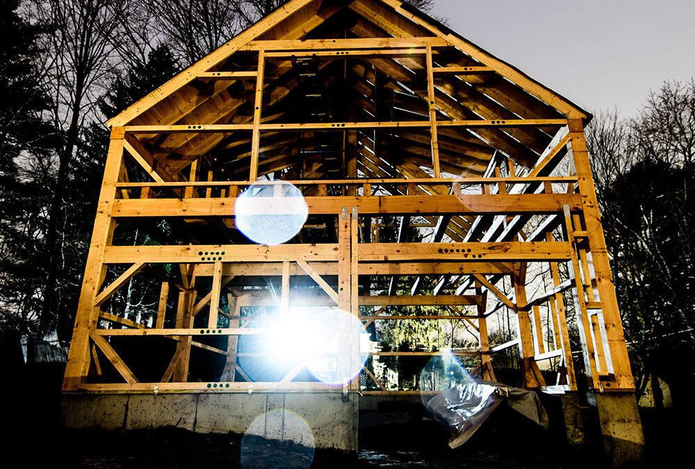 timber frame, barn kit