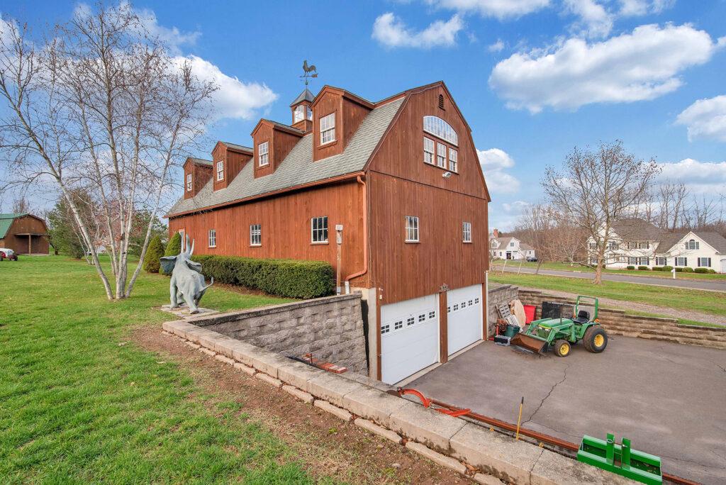 gambrel barn house suffield ct